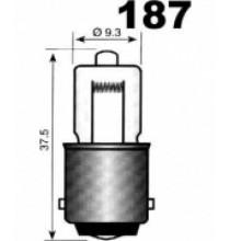 Autožárovky s kovovou paticí BA15s NARVA