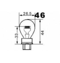 Autožárovky s kovovou paticí S25 NARVA