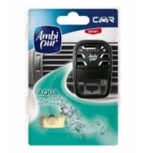Osvěžovač vzduchu Ambi Pur Car AQUA - strojek & náplň