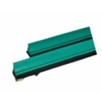 Gumičky do stěračů 610mm silikonové zelené