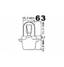 Autožárovky s platovou paticí B12,3D NARVA