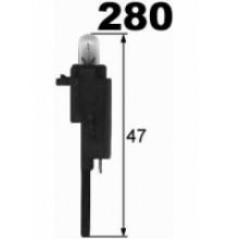 Autožárovky s plastovou paticí 47mm NARVA