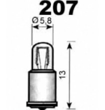 Autožárovky s plastovou paticí MF5,7x16mm NARVA