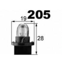 Autožárovky s plastovou paticí T10 NARVA