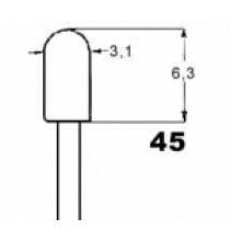 bezpaticové NARVA 12V 0,7W 3,2x6,5mm