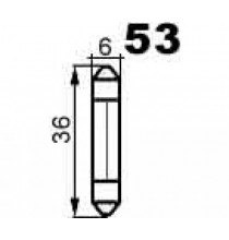 Autožárovky sufitové SV5,5 NARVA
